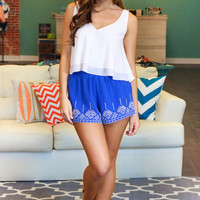 Finders Keeper Shorts - Royal