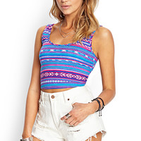 Southwest Trip Crop Top