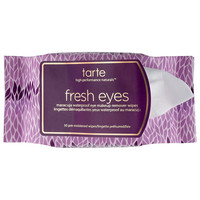 Sephora: Tarte : Fresh Eyes Maracuja Waterproof Eye Makeup Remover Wipes : eye-makeup-remover