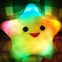 Light-emitting light-emitting pillow plush toys BACFB