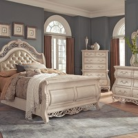 Velasquez Linen Bedroom Collection | Furniture.com