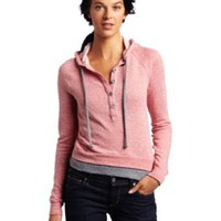 Splendid Women&#x27;s Mock Twist Hooded Pull Over