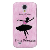 Keep Calm I'm a Princess Samsung Galaxy S4 Case
