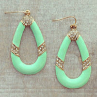 Mint Kipling Earrings