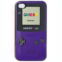 iPhone 4 4s Gameboy Color Hard iPhone Case Comes in by KustomCases