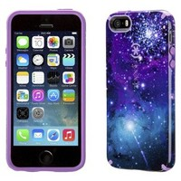 Speck CandyShell Inked Cell Phone Case for iPhone 5/5s - Galaxy Purple (SPK-A2797)