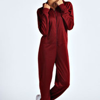 Effie Plain One Colour Hooded Onesuit