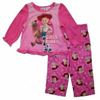 Toy Story Jessie Toddler Girls Fleece Pajamas