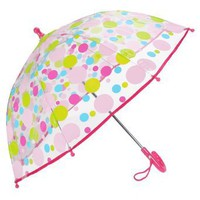 Little Kid's Polka Dotted Rain Umbrella