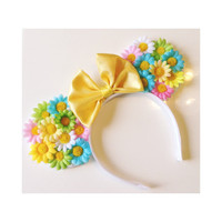 Bright Daisy Mouse Ears