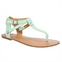 BC Footwear Would If I Could Exotic T-Strap Sandal at Von Maur