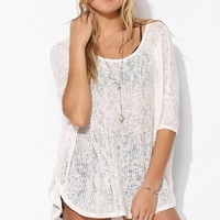 Staring At Stars Textured Swing Top