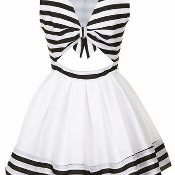 **GRACE STRIPED DRESS BY JONES AND JONES