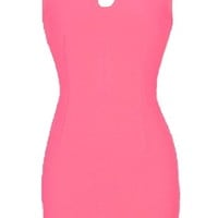 Passion Play Dress | Jeweled Cutout Coral Pink Bodycon Dresses | Rickety Rack