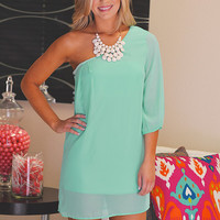 The Lucky One Dress - Mint