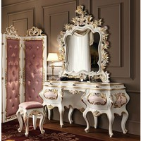 Solid wood dressing table 11205 Villa Venezia Collection by Modenese Gastone group
