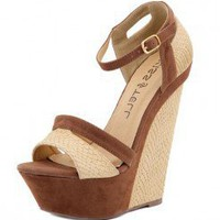 STYLISH PATTERNED WEDGE-Wedges-wedge heels,leopard wedges,suede wedges,Sexy wedges,white wedges,black wedges,sexy wedges,Silver Wedge