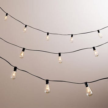 Edison-Style 10-Bulb String Lights - World Market