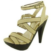MULTI STRAPPY SANDAL-Sandals-Sexy Sandal, High heel sandals, prom dress sandals, Evening dress sandals, Party Dress sandals, Club Dress sandals, Thong sandals