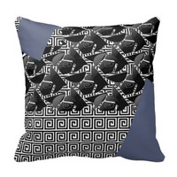 Square Spiral Pillow