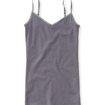 Solid V-Neck Core Cami