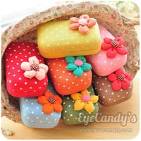 Handmade Sweety Flower Lens Travel Case