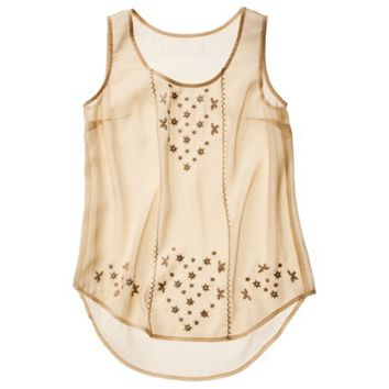Mossimo Supply Co. Junior's Chiffon Tank