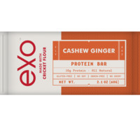 Exo | Made With Cricket Flour — Cashew Ginger
