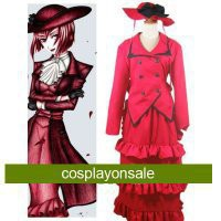 Black Butler Madam Red Angelina Dalles Cosplay Costume [TSY1111171028] - $82.29 : Cosplay, Cosplay Costumes, Lolita Dress, Sweet Lolita