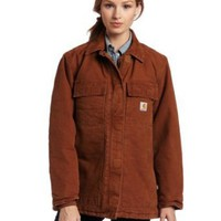 Carhartt Women's Sandstone Arctic Quilt Lined Traditional Coat