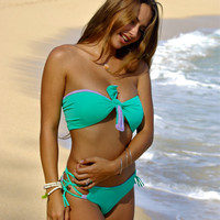 KAHULUI: REVERSIBLE Versatile Bathing Suit Top