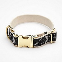 Grey Paw Womens Moon Cycle Collar - Black,