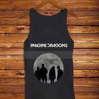 imagine dragons cover Black _ Tank Top And Tshirt Men And Women Design By : PATUNGAN