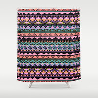ETHNIC SUMMER Shower Curtain by Nika | Society6