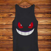 pokemon genggar expresi _ Tank Top And Tshirt Men And Women Design By : PATUNGAN
