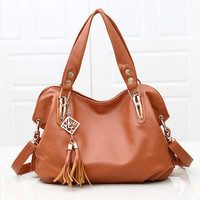 Fashion Luxury Retro Women's Handbag Tote Leather Hobo ShoulderBag Messenger Bag