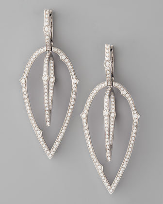 Stephen Webster - 3D White Diamond Earrings - Bergdorf Goodman