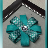 Loopy Hair Bow, pretty colors! Single or Double Layer