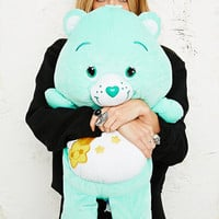 Plush 21 inch Carebear in Turquoise - Urban Outfitters