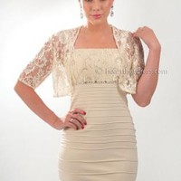 Amour Lace Dress w Bolero