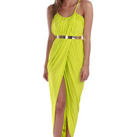 Empire Maxi: Neon Lime | Pretty Edgy