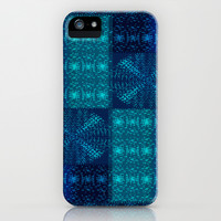 Moharra Teal iPhone & iPod Case by Nina May