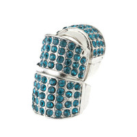 Pree Brulee - Azure Embellished Ring