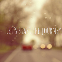 Let's Start The Journey Art Print by Ally Coxon | Society6