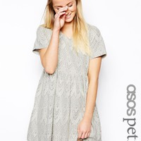 ASOS PETITE Exclusive Lace Smock Dress