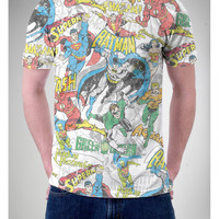 Sublimated DC Comics Allover Print Tee