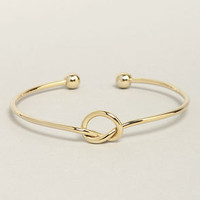 Let's Tie the Knot Gold Bracelet