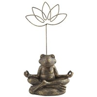 Yoga Frog Photo Holder