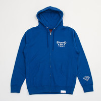 Gang Zip Up Hood in Cobalt