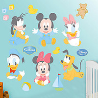 Baby Mickey Mouse Fathead Wall Decal